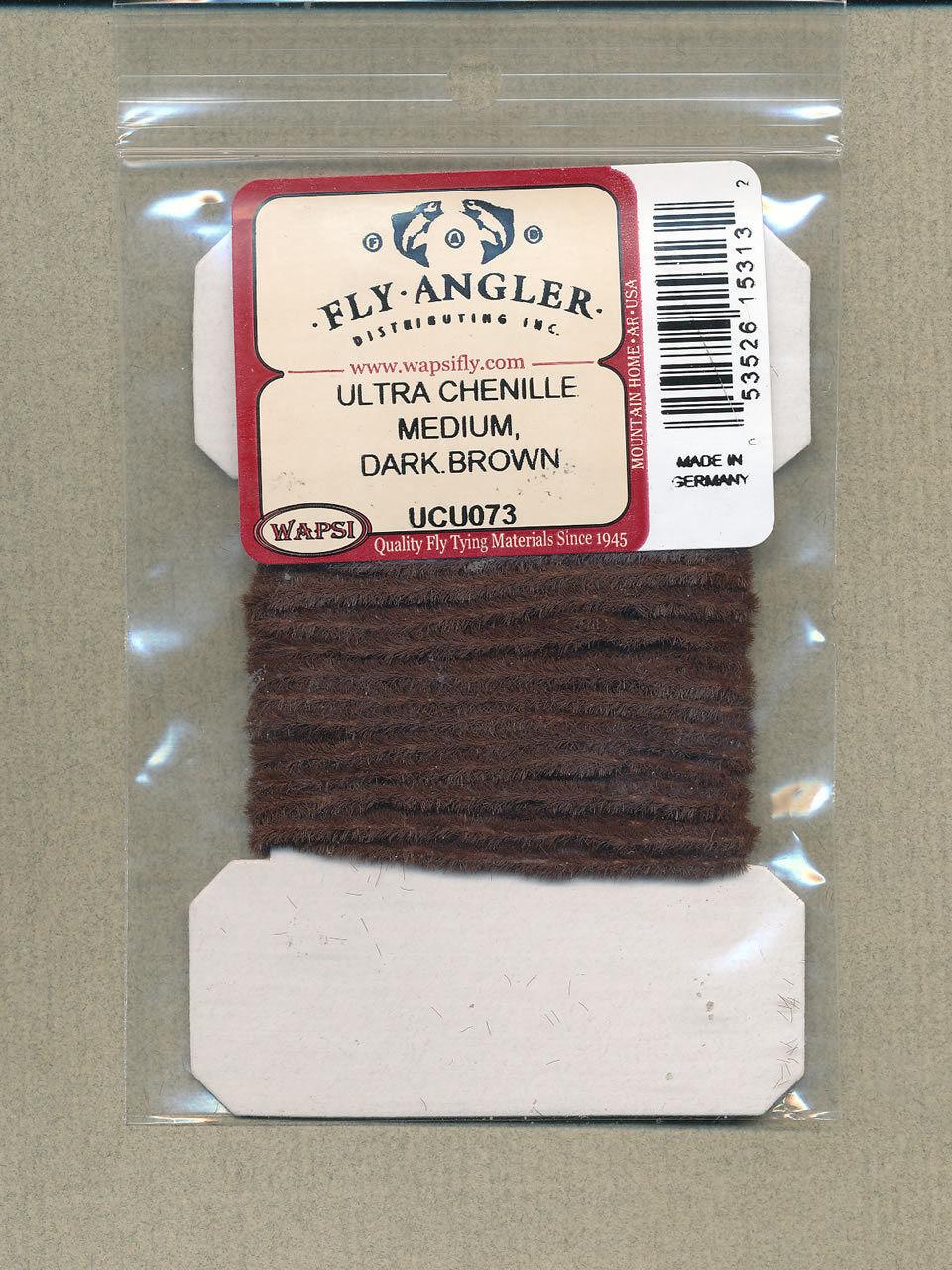 Ultra chenille medium dark brown     UCU073