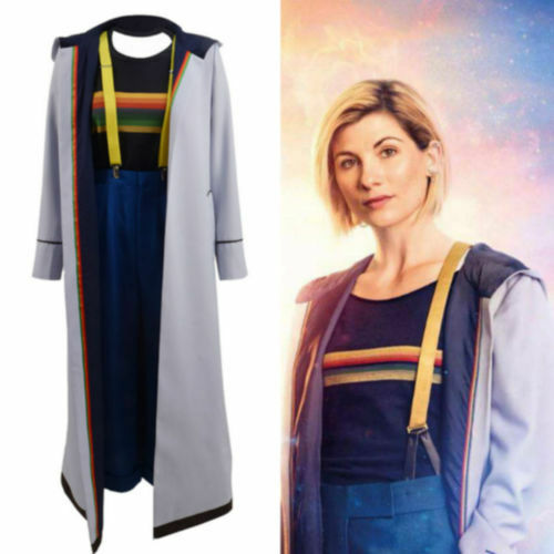 13 doctor who Jodie Whittaker coat cosplay costume No Who is Dr