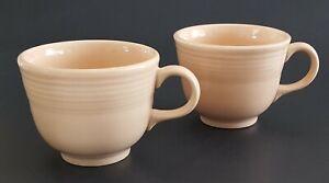 Vintage-HLC-Fiesta-Tea-Cups-Light-Blush-Pink-Set-of-Two-2