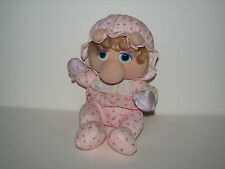 Muppet Babies Miss Piggy Hasbro Softies Plush Stuffed Doll Pampers 1984