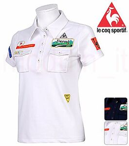 8d34eb8fc2 NEW LE COQ SPORTIF GOLF WOMEN'S SHORT SLEEVE KNIT POLO SHIRT ...
