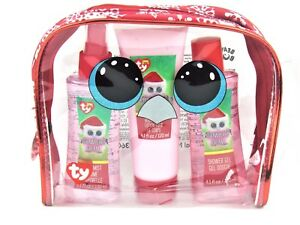 Ty Beanie Boo Tinsel Christmas Bath Set and Cosmetic Bag One Size ... 891225f464c