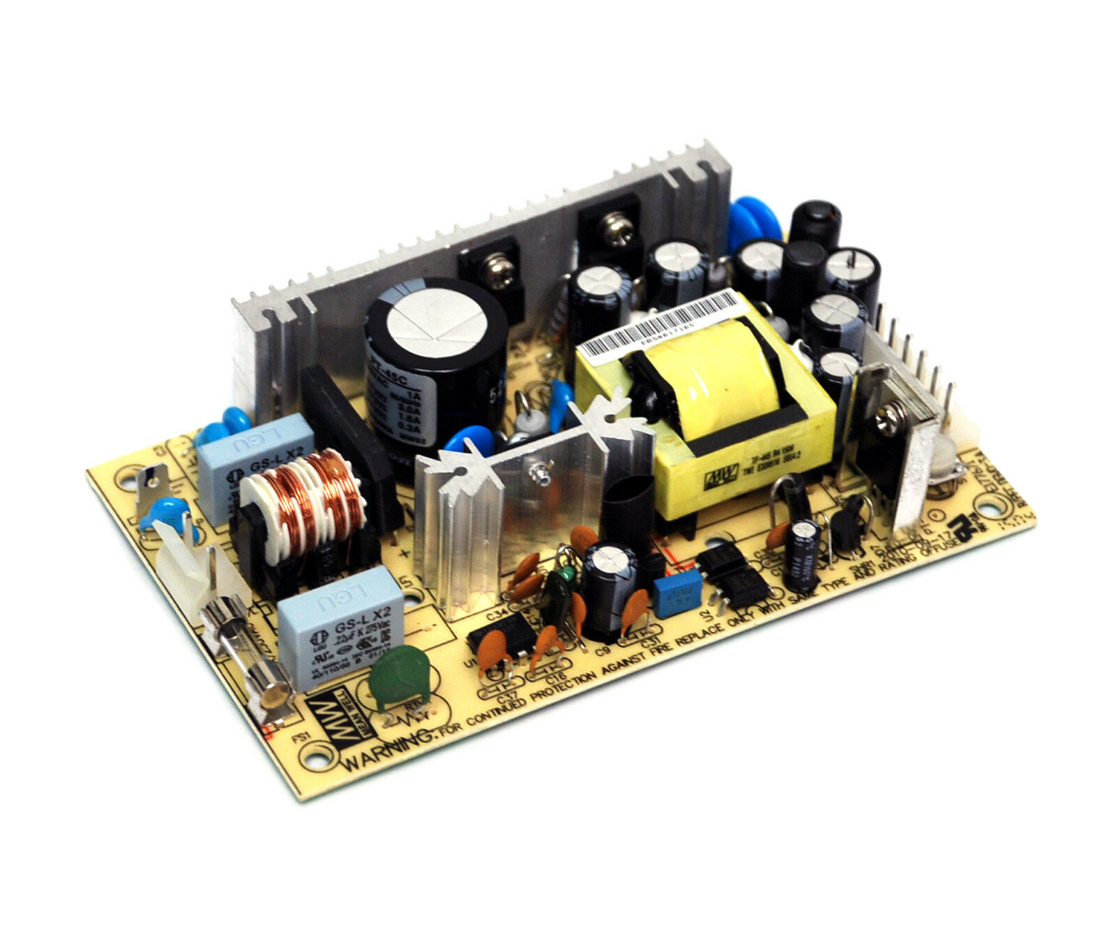 MEAN WELL RT-125B 132W AC//DC Enclosed Switching Power Supply+5V 15 Amp