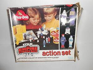 Vintage-Kenner-Star-Wars-The-Empire-Strikes-Back-Play-Doh-Action-Set-BOX-ONLY