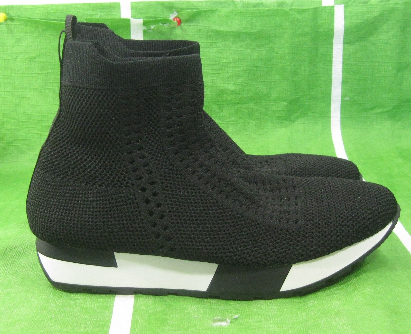 new SHIEKH black  Women's Iva Sneaker SOFT breathable flexible sexy Size 9
