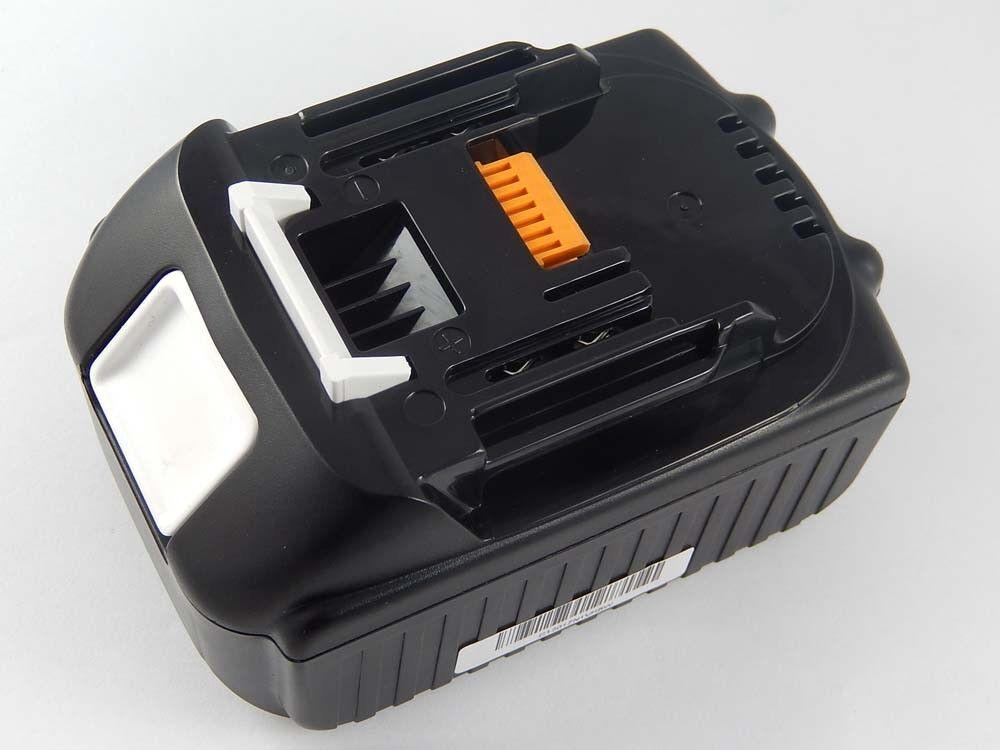 Original intensilo® Akku 5.000mAh für MAKITA BHP456Z, BHP458, BHR202, BHR202F, B