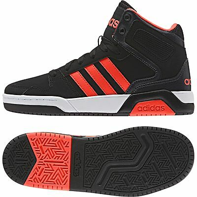 9c4b575fc9e34e ADIDAS BB9TIS MID K black red AW5096 NEO Sneaker Skater Basketball