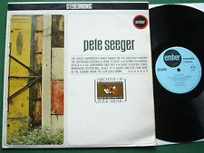 Pete Seeger Self Titled inc Kisses Sweeter Than Wine & The House Carpenter + LP