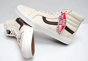 Sk8 6 Men's Size Hi potting Vans 5 Reissue Leather Blanc Vn0a2xsblyt Soil clTFKJ1