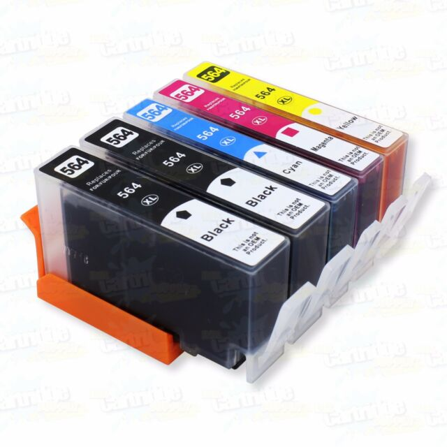 5P 564XL Ink for HP PhotoSmart 5510 5515 5520 5525 6510 6525 7510 7520 5510 B209
