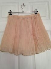 Buttermilk Peach Pleated Skirt By Browny. Japan Kawaii Gyaru