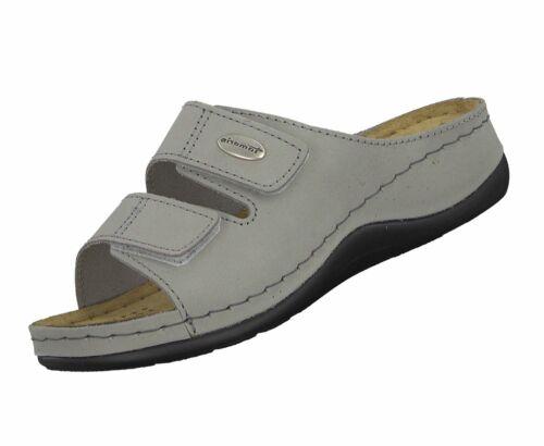 Tamaris Damen Pantolette 1-27510-22 Grau 200 Freizeit Sandale Pantolette Neu