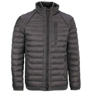 Details about Wellensteyn Men's Quilted Jacket Black Molecule Men Molm 667 Black Black