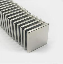 Lot 10 25 50 Super Block Magnets 1x1x18 Inch Rare Earth Neodymium Square N50