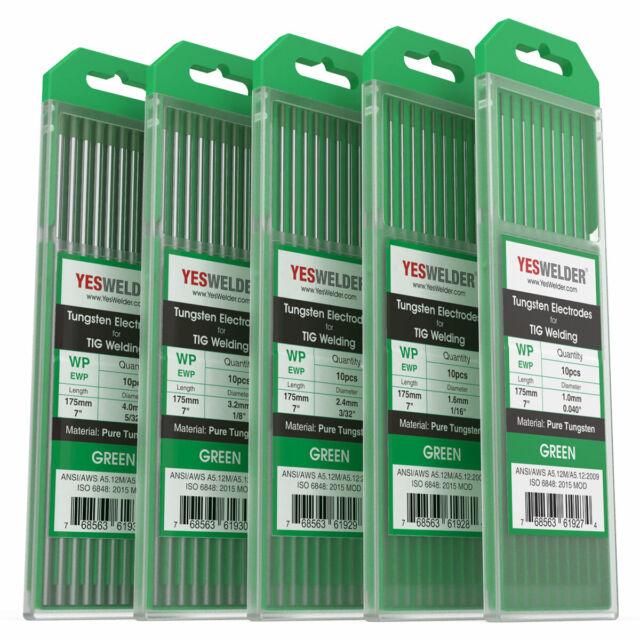 10 x Tungsten Electrode Pink WX 3,2 x 175mm tig Tig Argon Tungsten Needles