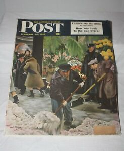 The-Saturday-Evening-Post-February-28-1948-Magazine-Collectible-with-Great-Ads