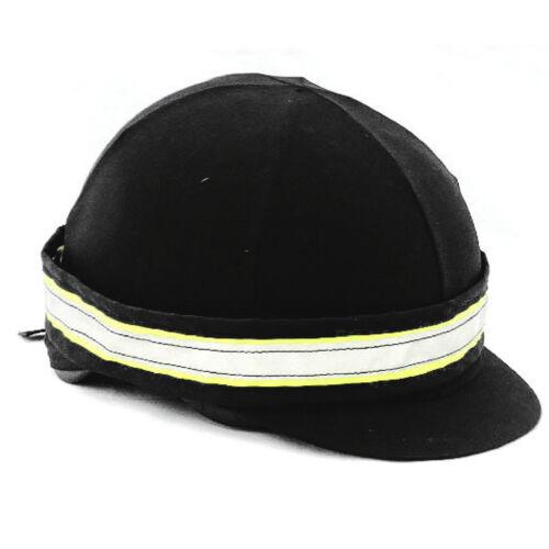 Fluorescent Horse Safety Set Quater Rug Leg Chest Bridle Straps Rider Vest Hat B