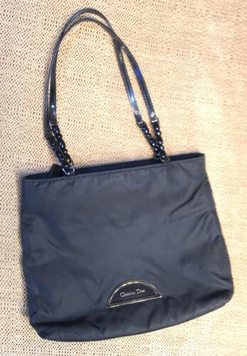 Christian Dior Maris Pearl Shoulder Tote Bag