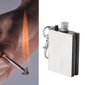 Emergency Fire Starter Flint Match Lighter Camping Instant Survival Tool JC