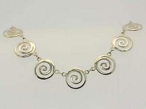 Collier-in-aus-925er-Sterlingsilber-Silber-Hals-Kette-Silberkette-Silbercollier