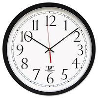 Chicago Lighthouse Selfset Wall Clock 16-1/2 Black 67400603 on sale