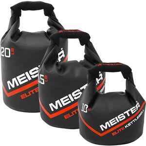 MEISTER PORTABLE SAND KETTLEBELL - 10/15/20 LB Elite Weight Sandbag Soft Dumbell