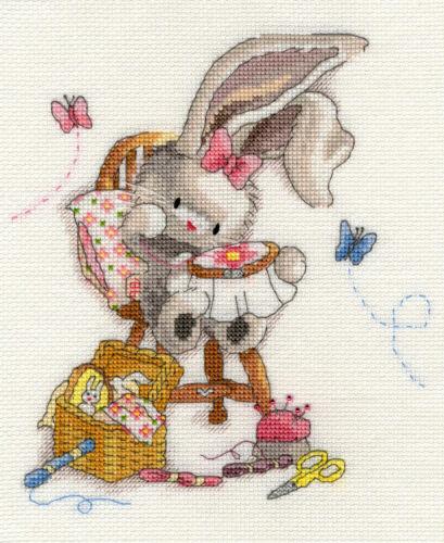 Bothy Threads Bebunni Cross Stitch Kit Sewn With Love