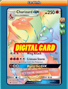 RR Charizard /& Braixen GX for Pokemon TCG Online PTCGO, Digital Card