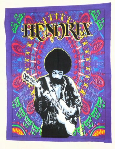 Jimi Hendrix Popular Character Cloth Fabric Poster Flag Tapestry Banner Jimmy