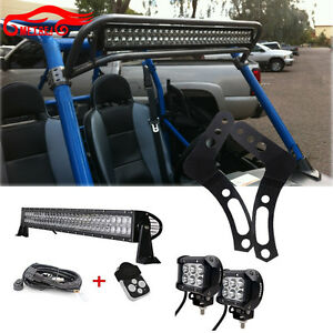 "30"" LED Polaris FOR RZR XP900 800 RZR4 Crew XP1000 Ranger 800 Side By Side SXS"