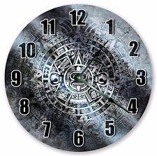 """3328 Large 10.5/"""" Wall Clock 10.5/"""" ABSTRACT MAYAN AZTEC DECORATIVE CLOCK"""