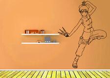 Wall Vinyl Sticker Decal Anime Manga Naruto Shippuden Ninja Girl Tenten V058