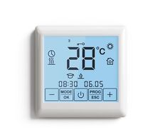 Touch Screen Thermostat Controller For Room and Floor Heating