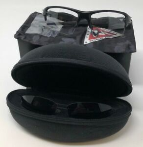 Authentic-Oakley-Flak-2-0-XL-Sunglasses-Matte-Black-Clear-Grey-Lenses-OO9188-37