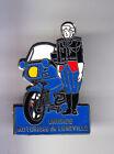 RARE PINS PIN'S .. GENDARMERIE BMO BRIGADE MOTORISE MOTO BMW LUNEVILLE 54 ~CP