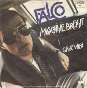 Falco-Maschine-Brennt-7-034-Single-Vinyl-Schallplatte-13958
