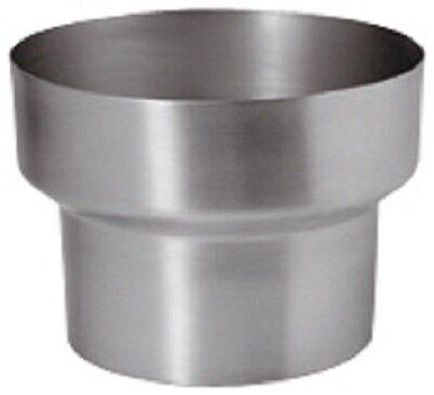 Fürs Dach Baustoffe & Holz GroßZüGig Titan-zink Fallrohr Reduzierung/reduktion 100mm/87mm Modische Und Attraktive Pakete