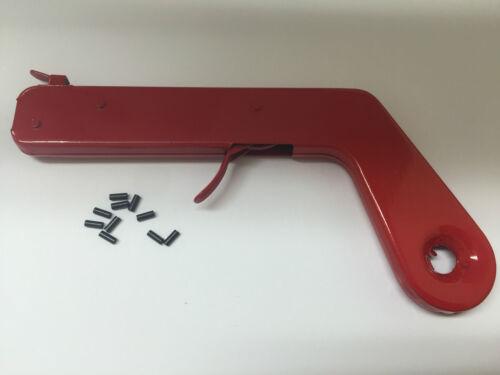 1 x Pistol Flint Gun /& FREE PACK of 10 Flints Welding Torch Lighter Gas Cutting