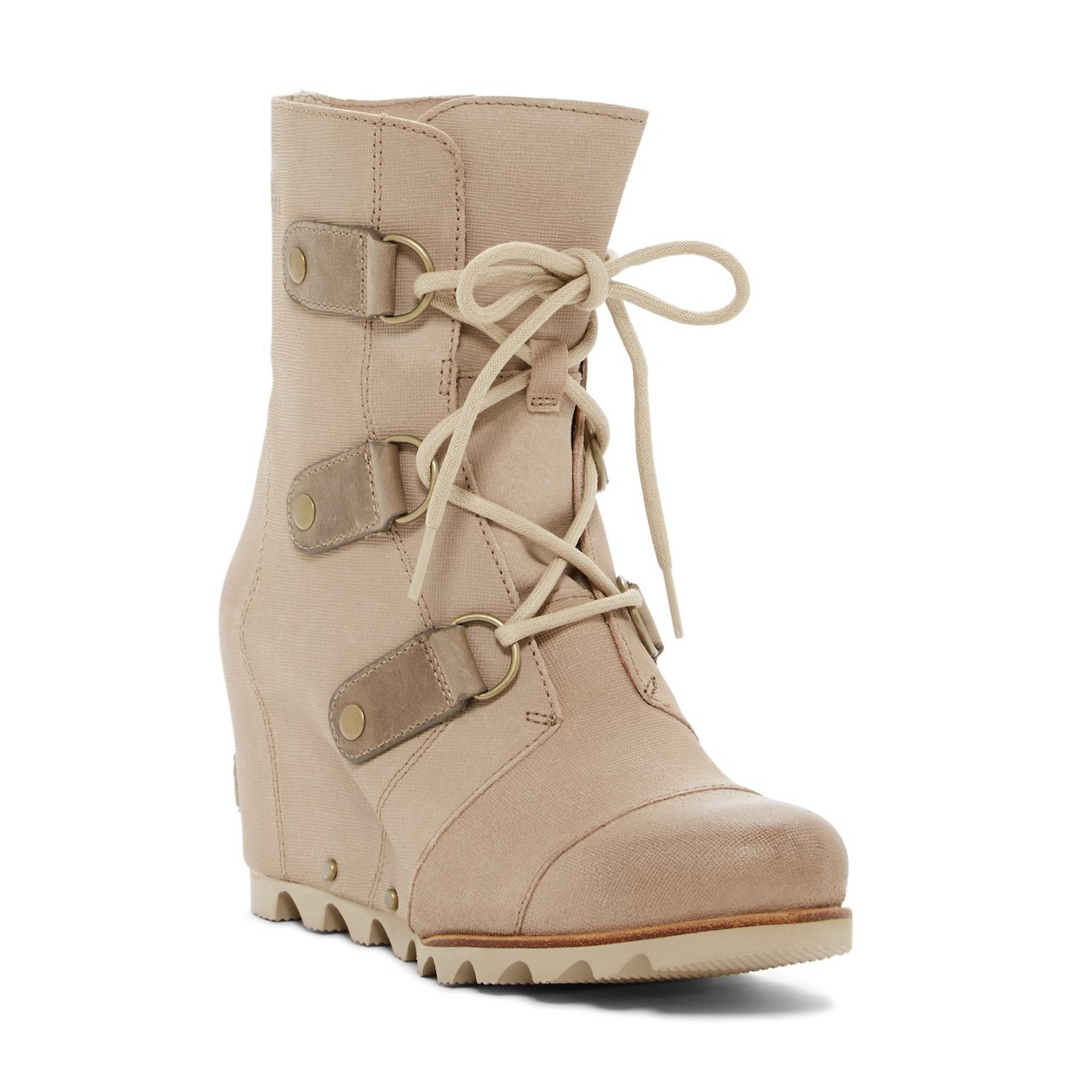 db5fa219f95 Details about Sorel Joan of Arctic Wedge Mid Oxford Tan Winter Snow Boot  Womens Size 10.5