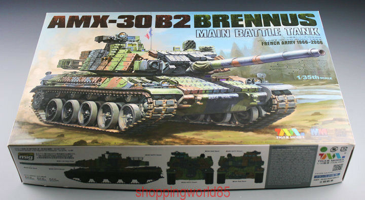 Tiger Model 4604 1 35 French AMX-30 B2 Brennus MBT AAA