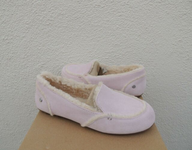 UGG Hailey Seashell Pink Suede Fur