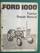 FORD 1000 REPAIR MANUAL