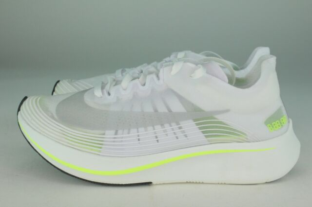 8a3d4b035666 Nike Zoom Fly Special Edition Running Shoes Size 7 White  Volt Glow ...