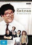 Extras-Season-2-DVD-2007-2-Disc-Set-R4-VGC-Ricky-Gervais