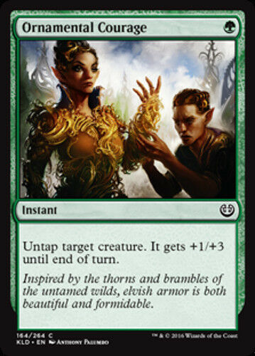 NEW 4x Ornamental Courage MTG Kaladesh