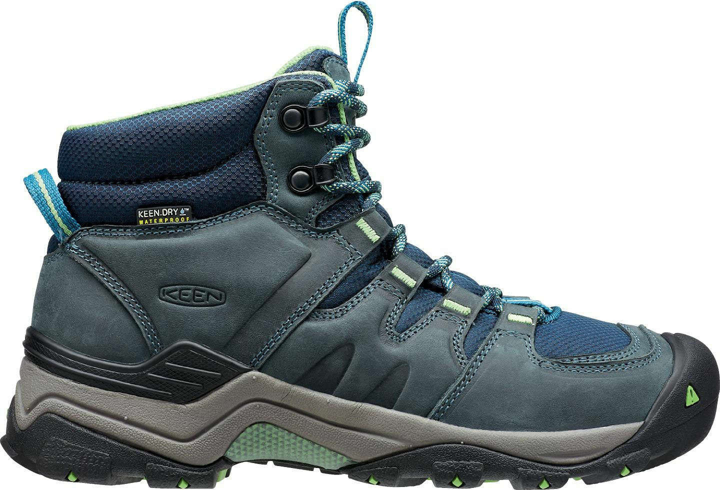 Keen Womannen's Gypsum II Mid WP Hiking laarzen Midnight Navy  Opaline 1015355 []