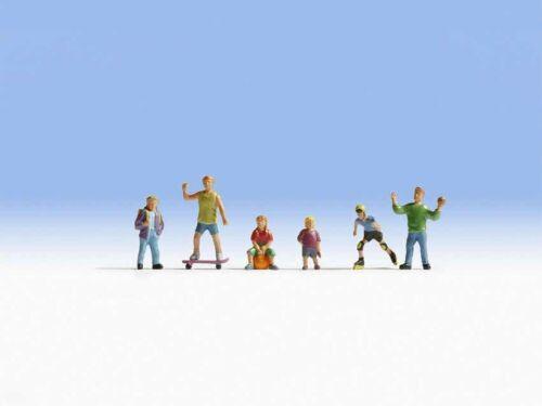 NOCH 15810 Spielende Kinder, 6 Figuren ++ NEU in OVP