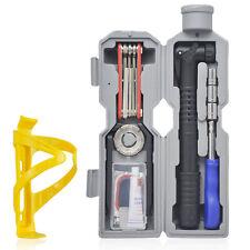 Bicycle Repair Tools Kit Mountain Road Bike Simple self-Repair Tool Set 19pcs