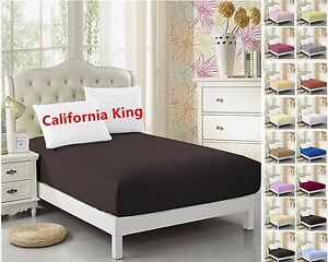 Cal-King-Fitted-Sheet-1pc-Ultra-Soft-Microfiber-Wrinkle-Free-Hypoallergenic