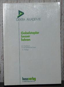 Buch-034-Gabelstapler-besser-fahren-034-hussverlag-Muenchen-12-Auflage-1992